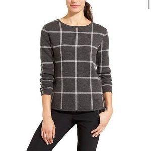 lululemon athletica Sweaters - Athleta Dakota Merino Wool Windowpane Sweater